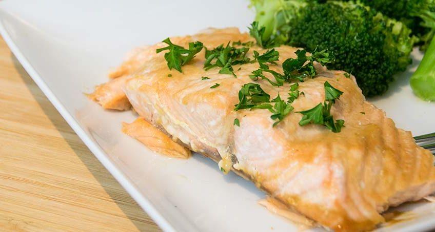 Maple Salmon GERD Diet