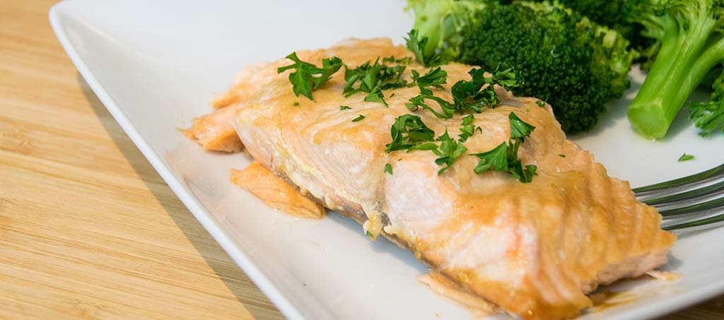 Maple Salmon GERD Diet