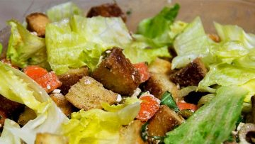 GERD-friendly Romaine Salad