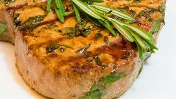 GERD-friendly tuna steak