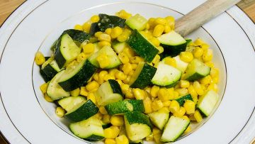 GERD-Friendly Zucchini Corn