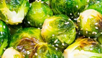 GERD-friendly Brussels Sprouts