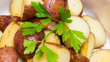 honey roasted potatoes