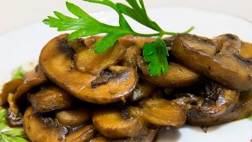 GERD-friendly mushrooms