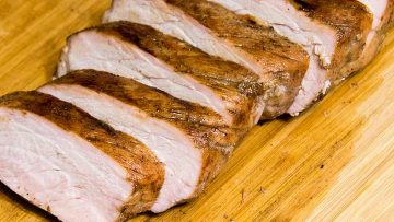Grilled Pork Loin for GERD diets