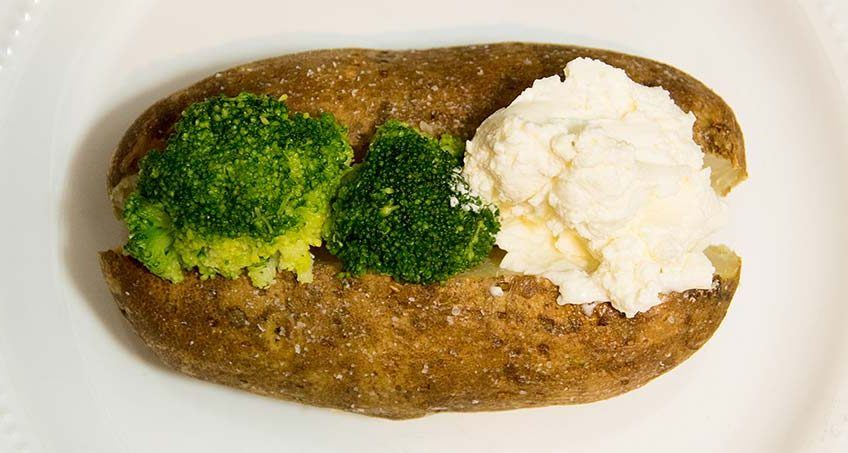 GERD-friendly Baked Potato