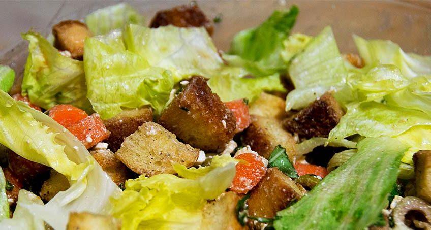 GERD-friendly Romaine Salad